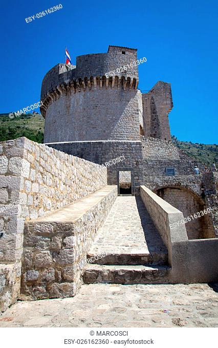 Dubrovnik Old Town in Croatia, Europe