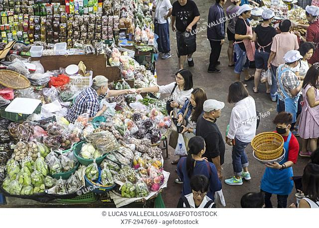 Warorot Market (Talat Warorot) in Chiang Mai, Thailand