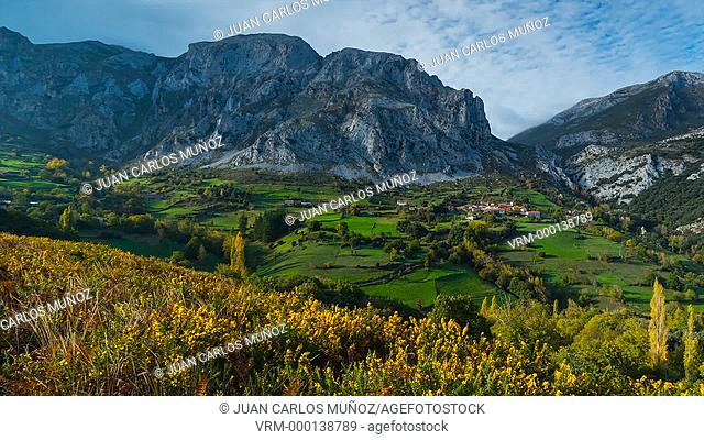 Cabañes village in Liébana Valley