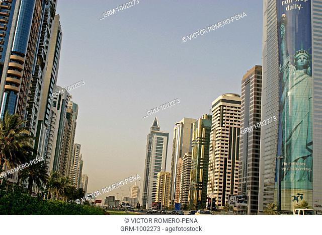 Sheikh Zayed Road, Dubai, U.A.E