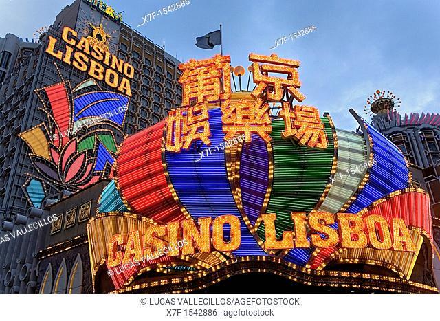 Grand Lisboa casino,Macau,China