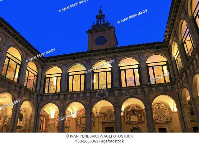 The Archeological Civic Museum of Bologna, Italy
