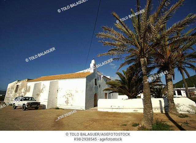 Sant Francesc de s'Estany, Church (18th Century). Ibiza. Balearic Islands, Spain