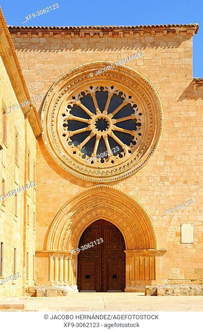 Cistercian monastery of Santa María de Huerta. Soria province. Castilla y León. Spain