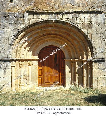 Chapel of Nuestra Señora de la Calzada, Brías. Soria province, Castilla-León, Spain