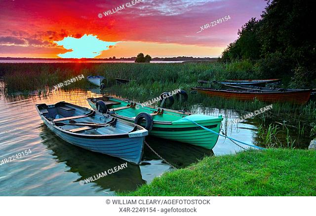 Sunrise over Lilliput, Lough Ennell, County Westmeath, Ireland