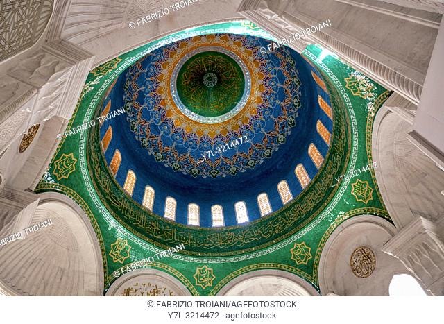 Interior of Bibi-Heybat Mosque, Baku, Azerbaijan