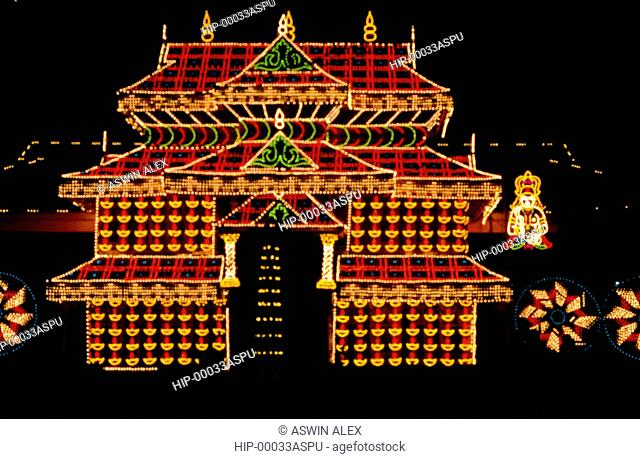 THRISSUR POORAM, KERALA, INDIA