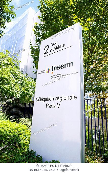 INSERM, Paris