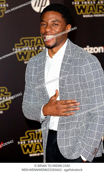 """Celebrities attend Premiere Of Walt Disney Pictures And Lucasfilm's """"""""Star Wars: The Force Awakens"""""""" at the Dolby Theatre"""