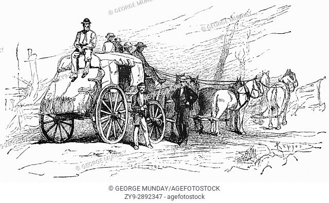 1879: Off to the Silver Mines from Salt Lake City, Utah, United States of America