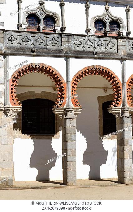 Palacio de Don Manuel, Evora, Alentejo, Portugal