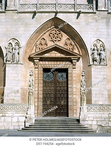 Gothic Cathedral. Burgos. Spain
