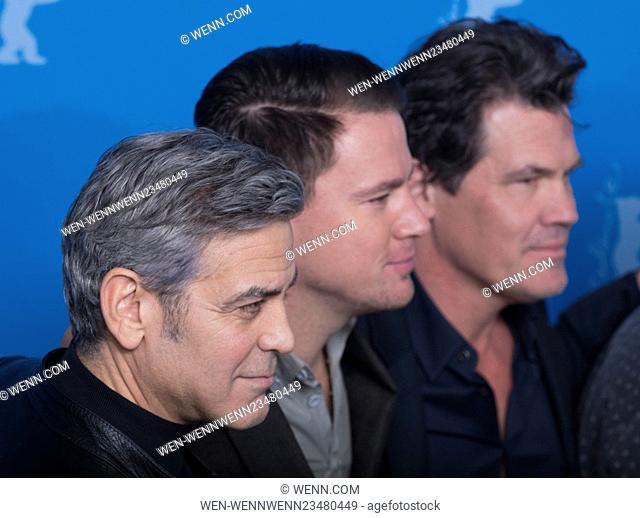 66th Berlin International Film Festival (Berlinale) - 'Hail, Caesar! - Photocall Featuring: George Clooney, Channing Tatum, Josh Brolin Where: Berlin