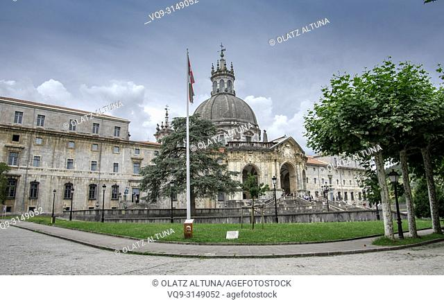 Santuario San Ignacio de Loyola, Camino Ignaciano, Ignatian Way, Azpeitia, Gipuzkoa, Basque Country