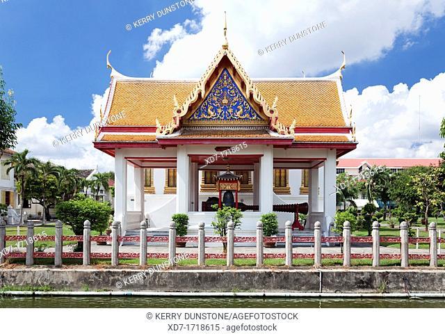 'Four Princes Pavilion', Wat Benchamabophit Marble Temple, Banglamphu, Bangkok, Thailand