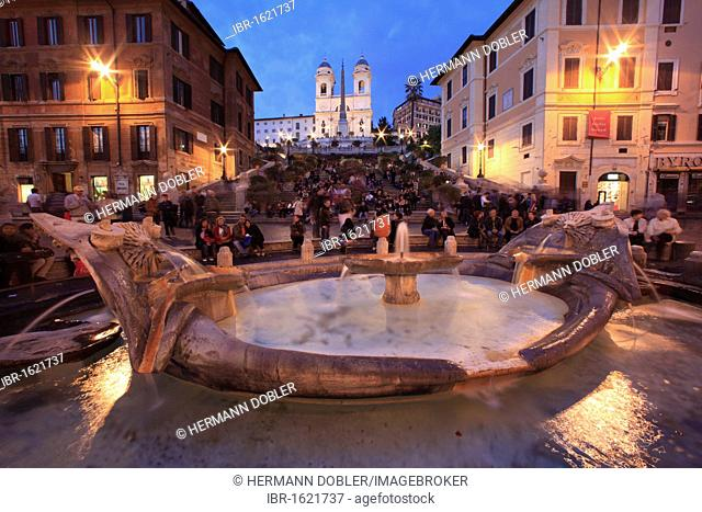 Piazza di Spagna, Spanish Steps, Rome, Italy, Europe