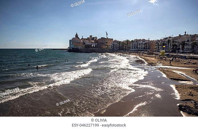 Sitges city, Catalonia, Spain