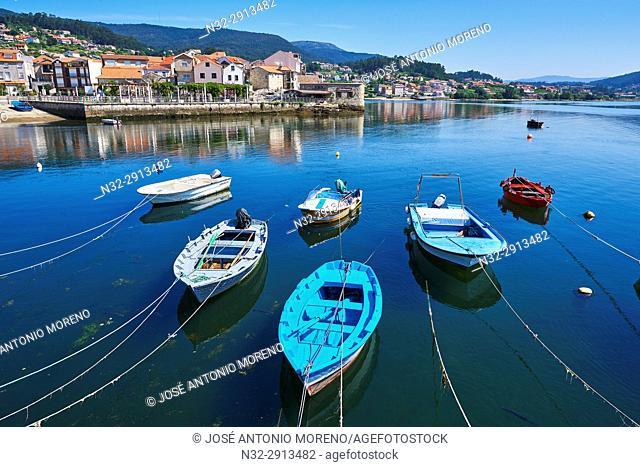 Combarro, Marina, Poio, Ria de Pontevedra, Pontevedra province, Galicia, Spain
