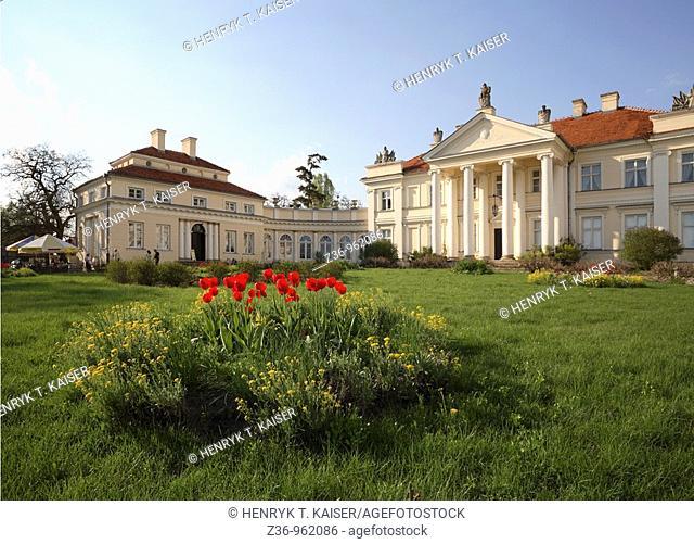 Palace and Museum of Adam Mickiewicz, Smielow, Poland