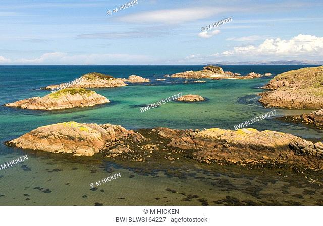 Kintra Bay, United Kingdom, Scotland, Isle of Mull