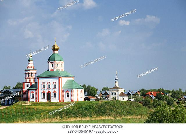 Church of Elijah the Prophet (Elias Church) - church in Suzdal, Russia. Built in 1744. Golden Ring of Russia