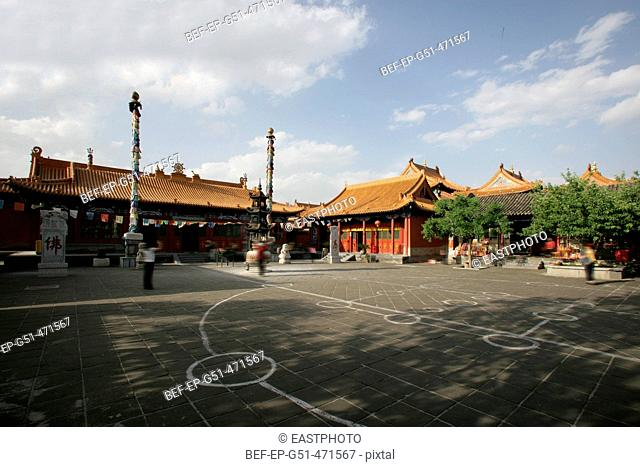 the Greatzhao Temple in Inner Mongolia