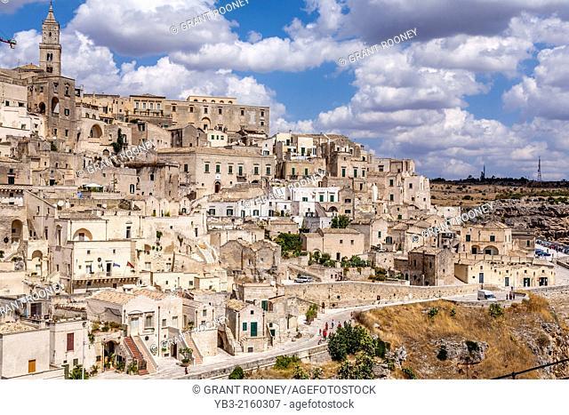 The City of Matera, Basilicata, Italy