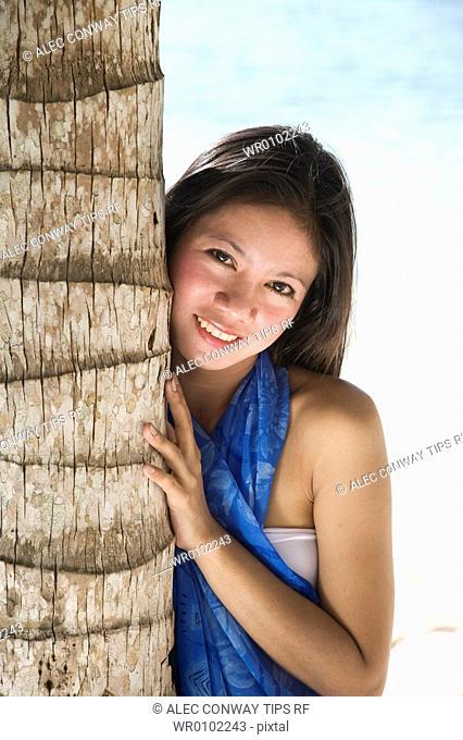 Filipino woman's portrait