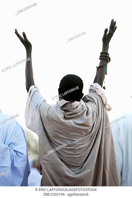 Sufi Whirling Dervishes At Omdurman Sheikh Hamad El Nil Tomb, Khartoum, Sudan
