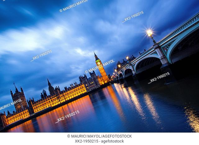 Visit Big Ben and River Thames at Dusk, London, UK