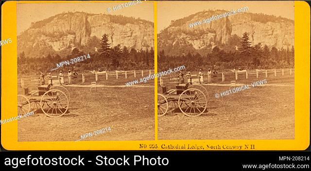 Cathedral Ledge, North Conway, N.H. James Cremer's Stereoscopic Emporium (Distributor). Robert N. Dennis collection of stereoscopic views United States States...