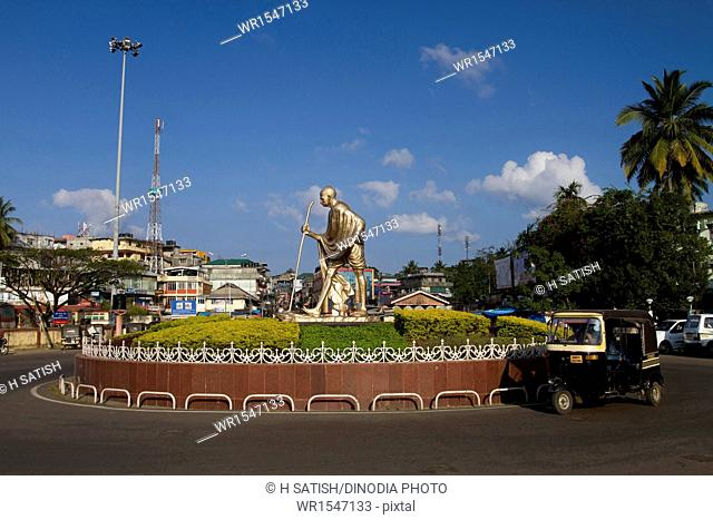 M G Circle Mahatma Ghandhi Road Park Port blair Andaman islands India Asia
