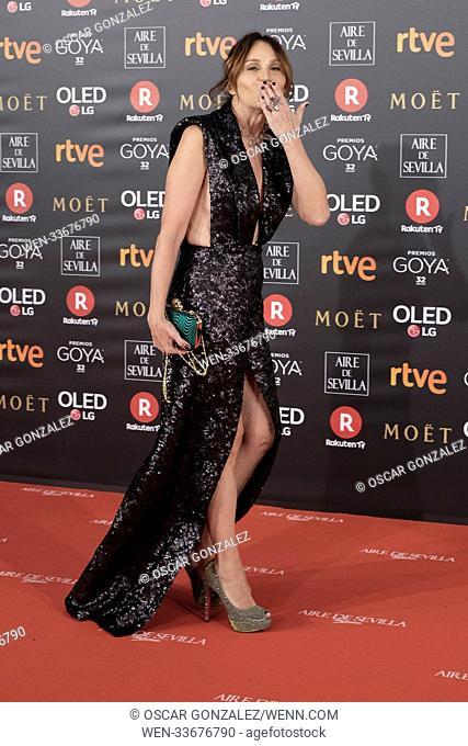 32nd Goya Film Awards, held at the Madrid Marriott Auditorium in Madrid, Spain. Featuring: Antonia San Juan Where: Madrid, Community of Madrid