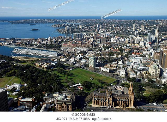St Mary's cathederal and Sydney, Sydney, Australia