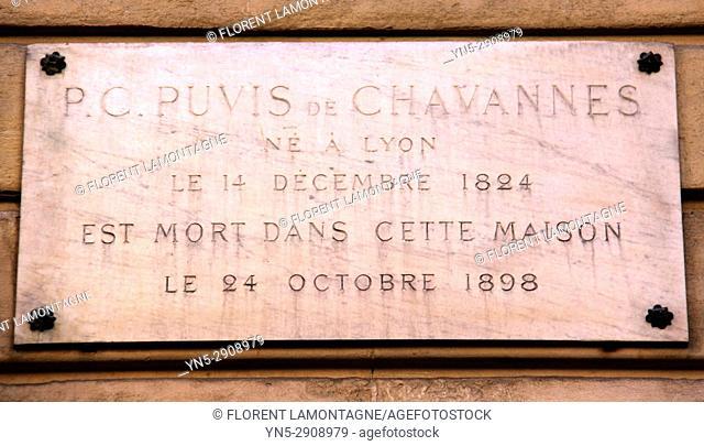 Puvis de chavannes, maison, Paris, 75017, house