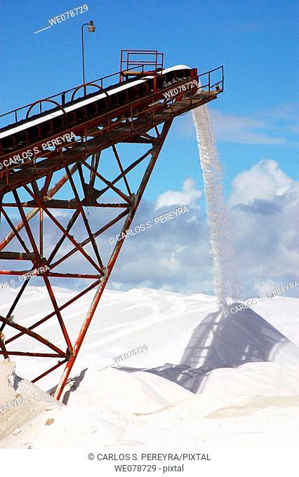 Salt industry, Guerrero Negro, Baja California Sur, Mexico