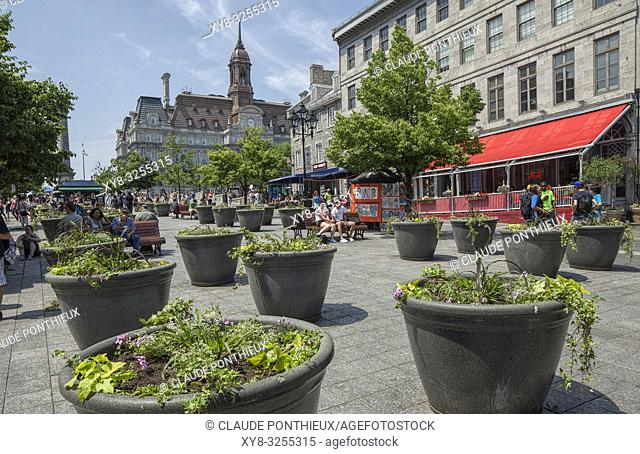 Place Jacques-Cartier, Old Montréal, Québec, Canada