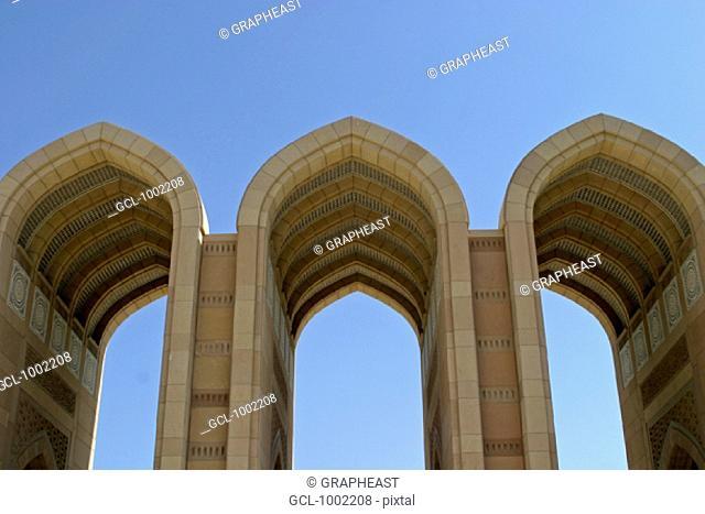 Gates of the Sultan Qaboos Mosque, Oman
