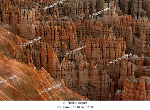 Rock hoodoos in Bryce Canyon National Park, Utah, USA