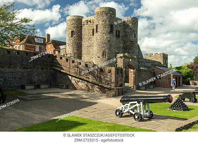 Ypres Tower (Rye Castle) in Rye, East Sussex, England
