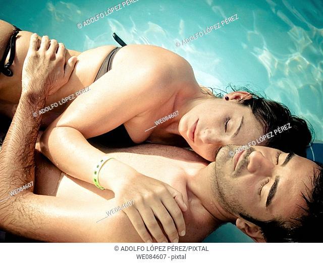pareja relajada en Punta Cana, República Dominicana