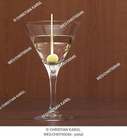 Martini, close-up