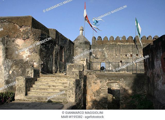 africa, kenya, mombasa, portuguese castle