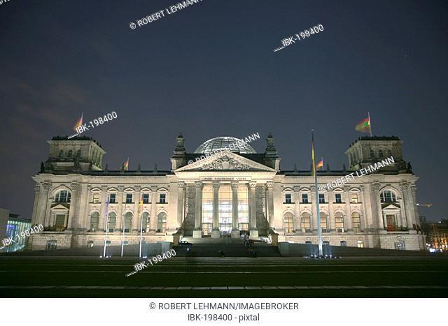 German Reichstag Berlin Germany Europe