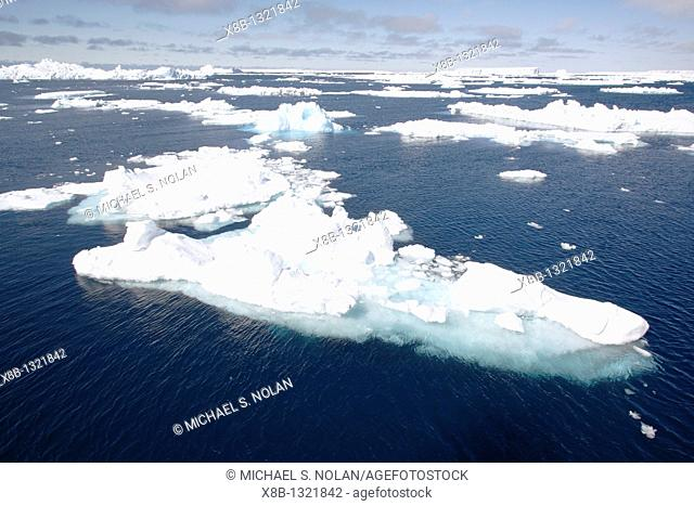 Strange and wonderful formations in the icebergs and bergy bits in and around the Antarctic Peninsula during the summer months