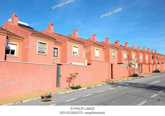 Urbanization in Algeciras, Andalusia Spain