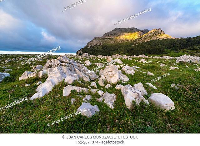 Mount Candina (489 m) - Monte Candina, Liendo Valley, Cantabria, Spain, Europe