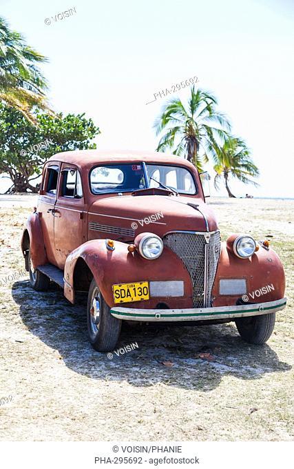 50s American car , Cuba