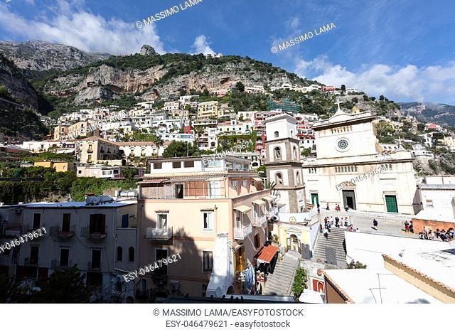 The beautiful village of Positano, Amalfitan coast, Italy